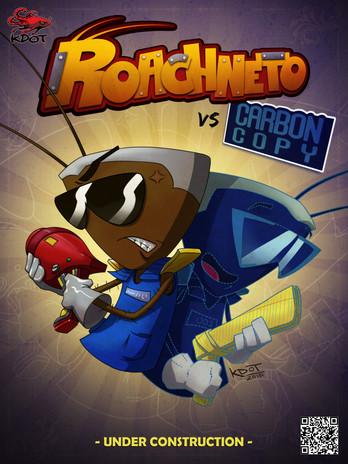 Roachneto 'Roachneto vs. Carbon Copy' Comic Cover