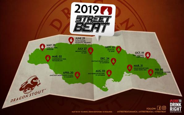 Dragon Street Beat 2019 Calendar