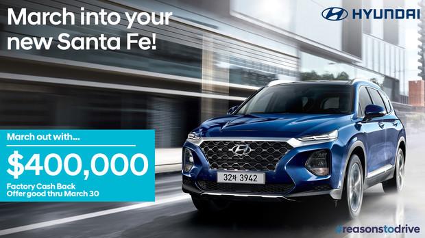 Hyundai Santa Fe 2019 Campaign Slider