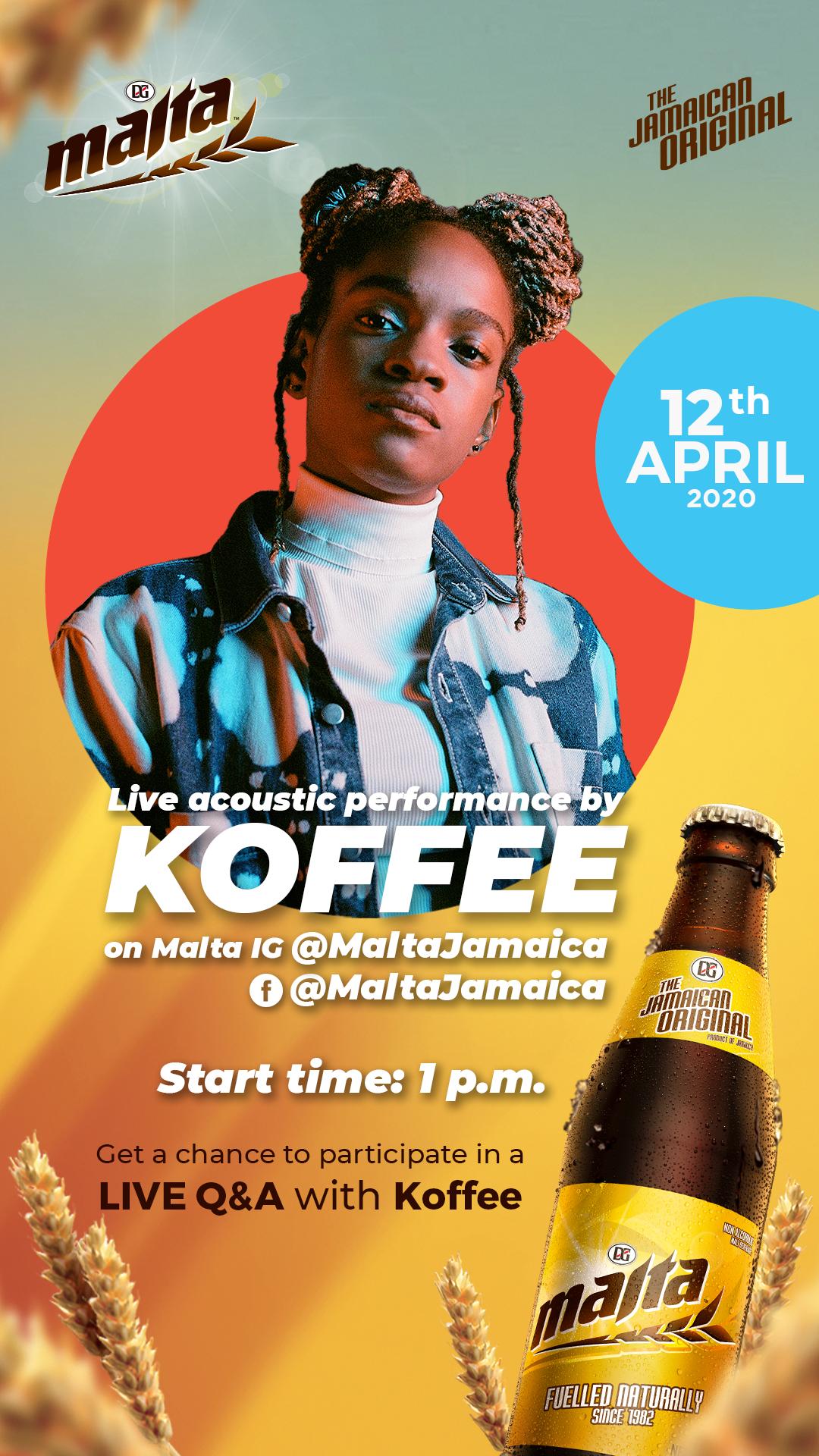 Koffee Live Online Concert