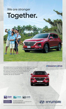 Hyundai Santa Fe Press Ad