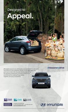 Hyundai Tucson Press Ad