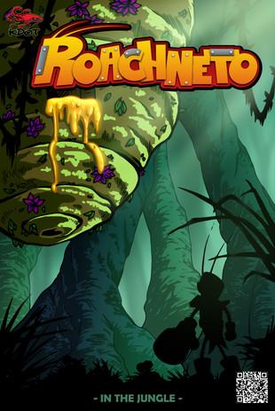 Roachneto 'In the Jungle' Comic Cover
