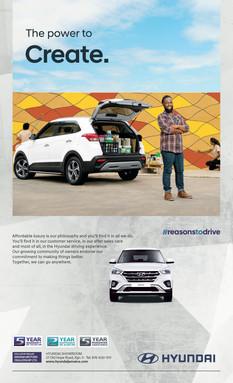 Hyundai Creta Press Ad