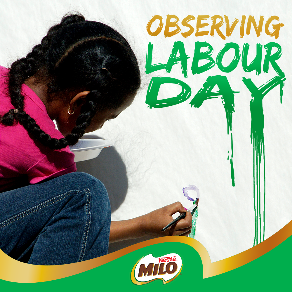Milo Labour Day SM Post
