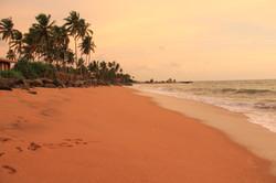 Beach view towards Negombo