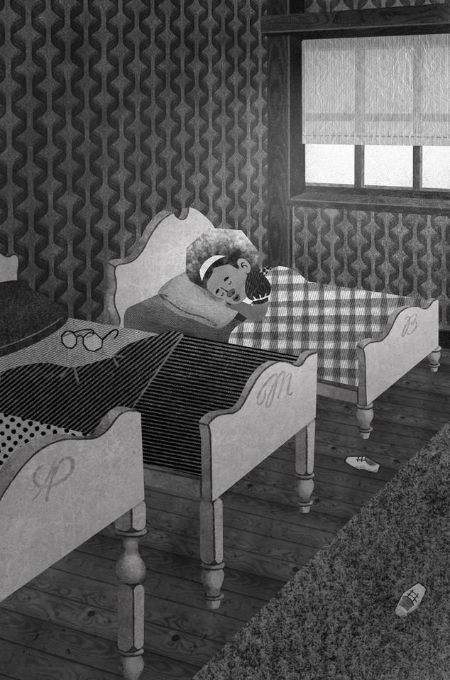 Goldilocks Sleeping