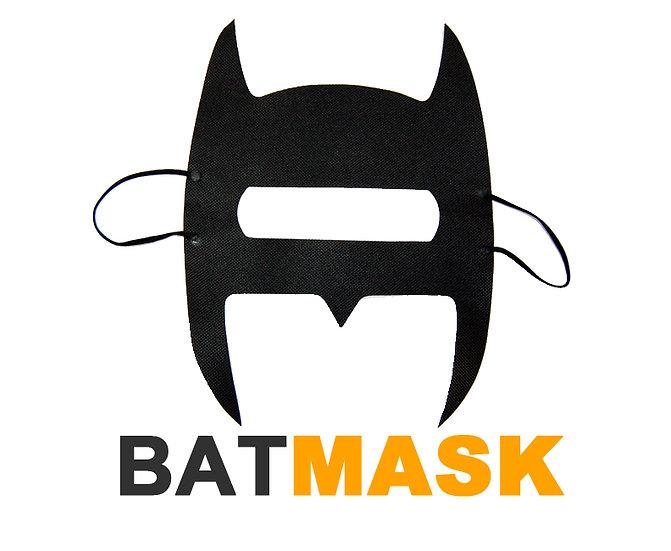 Batmask for VR Headset - Black Eye Face Mask (Batman Like)