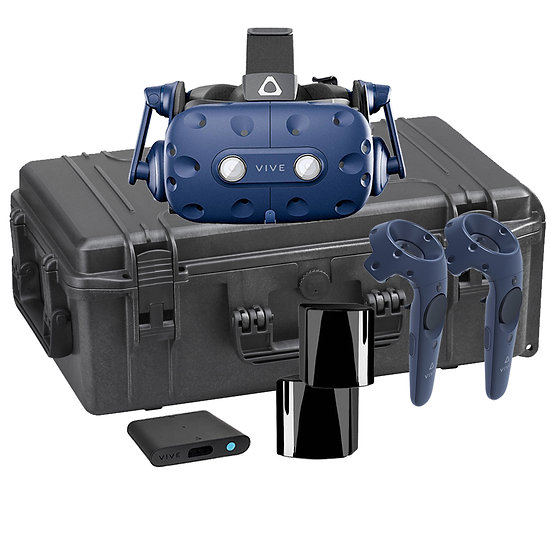 Universal VR Suitcase for Headsets, modular with compartments - GOVR (S)