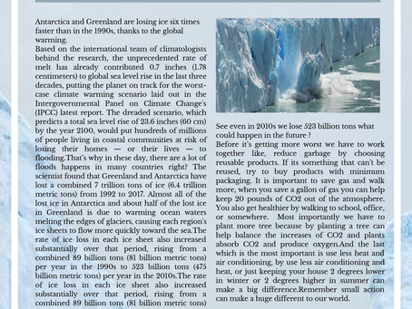 """The Rapid Ice Loss Puts The World On Track For The """"Worst Case"""" Climate Scenario"""