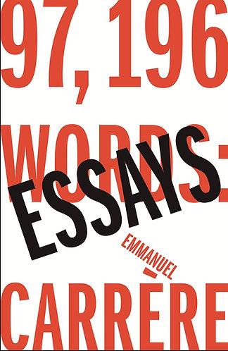 Essays | Emmanuel Carrere