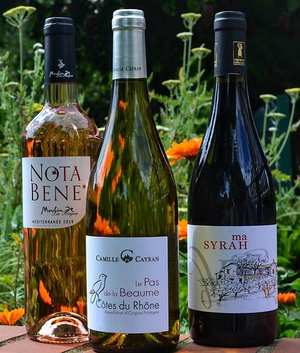 Red, White & Rose (3 bottles)
