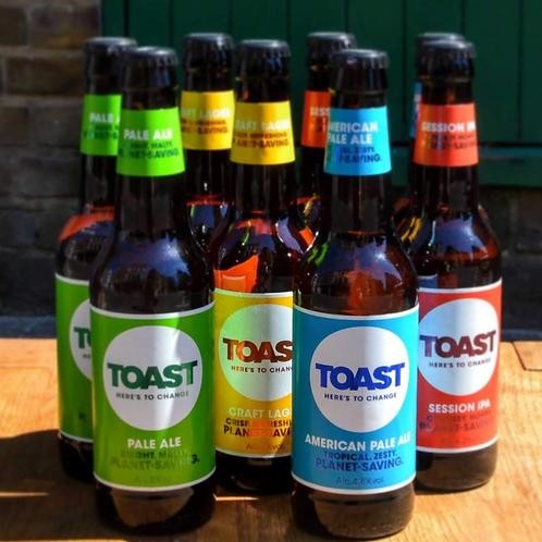 Cheers! | 8 mixed Toast beers