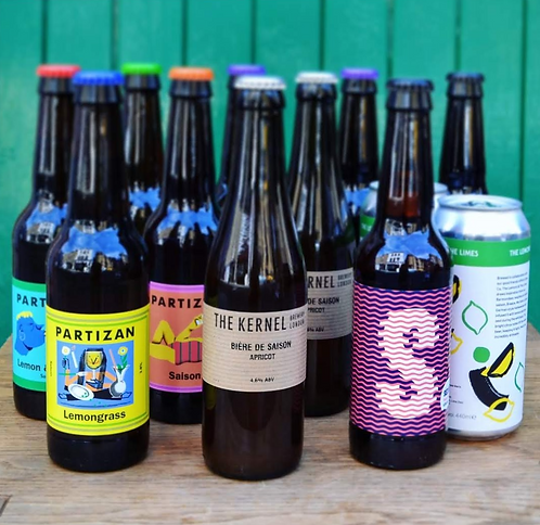 Saisons in the Sun | 12 mixed beers