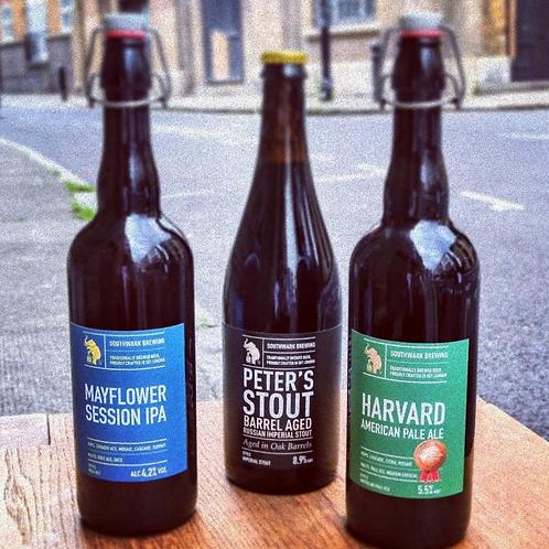 Southwark Brewery | 3 cask beers
