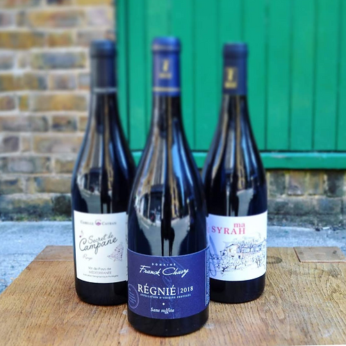 Intensity Red | 3 bottles red wine