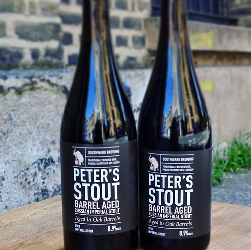 Seriously Stout | 2 barrel aged Peter's Stout