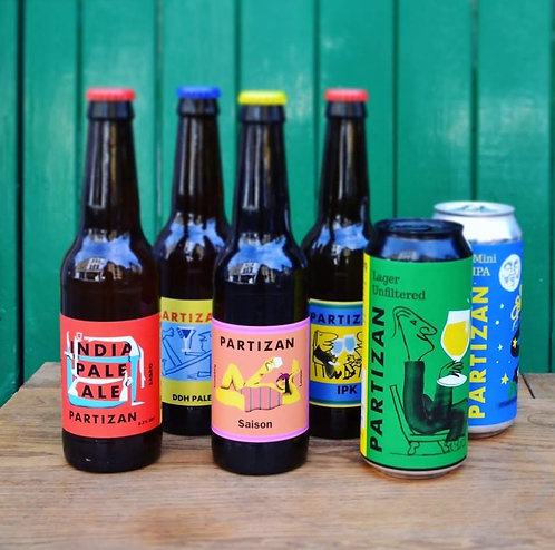 Party Partizan | 6 mixed beers