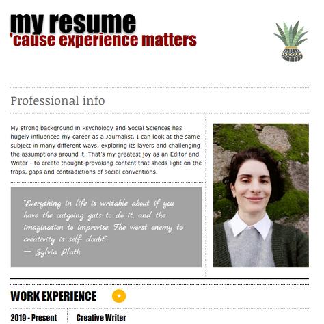 Kika Salvi's resume
