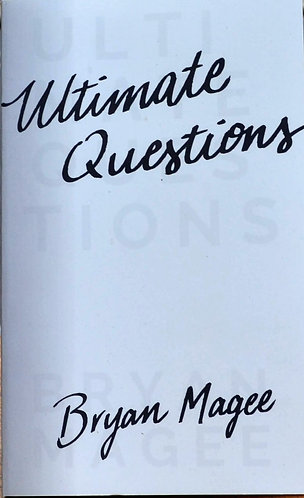 Ultimate Questions | Brian Magee