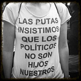 Las putas no parimos asesinos #DíadelaIndignación