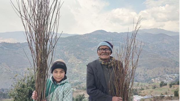 Earth Day Network x Sustainable Green Initiative | Hatwal Gaon, Tehri Garhwal, Uttarakhand (2021)