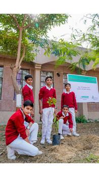 """Project Greenway"", Praxair x Jawahar Navodaya Vidyalaya, Sadhi | Vadodara, Gujarat (2019)"