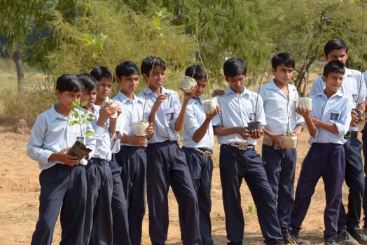 """Happy Earth"", Hero MotoCorp x Jawahar Navodaya Vidyalaya, Kaloi | Jhajjar, Haryana (2015)"