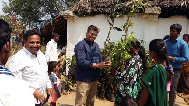 Fincare Bank distribution program, various locations in Karnataka (2016)