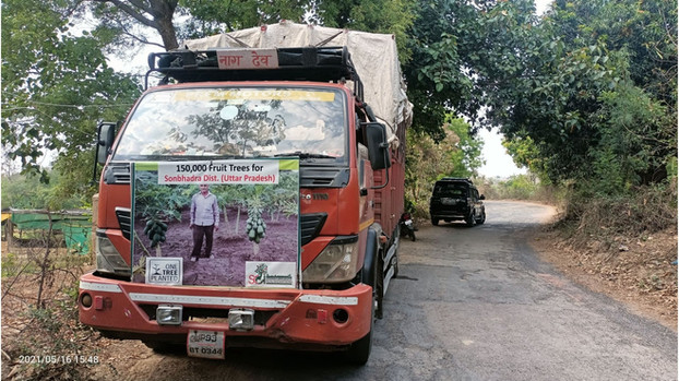 """One Million Fruit Trees"" | One Tree Planted x Sustainable Green Initiative | Sonbhadra, Uttar Pradesh (2021)"