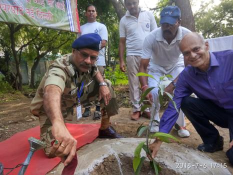 """We Care"" Hero MotoCorp CSR initiative x CISF, Ghaziabad, Uttar Pradesh (2018)"