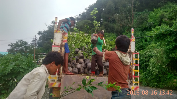 """We Care"" Hero MotoCorp CSR Initiative | Chamasari, Dehradun (2016)"