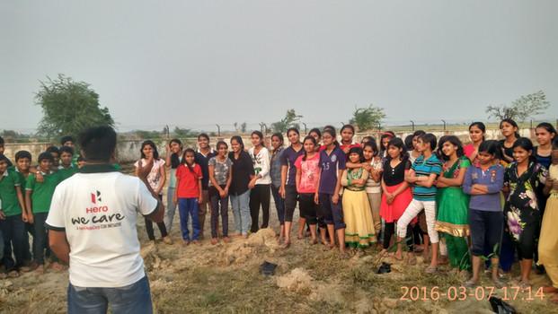 """We Care"", Hero MotoCorp x Jawahar Navodaya Vidyalaya, Mothuka | Faridabad, Haryana (2016)"