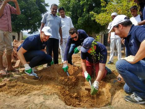 PublicisLive CSR activity, Ghaghas, Haryana (2017)