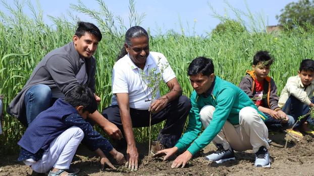 Ecosia x Sustainable Green Initiative | Budhsaini, Baghpat, Uttar Pradesh (2020)
