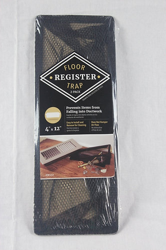 "4""x12"" Floor Register Trap - 2 Pack"