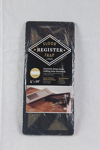 "4""x10"" Floor Register Trap - 2 Pack"