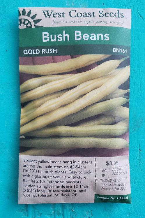 Gold Rush Yellow Wax Beans