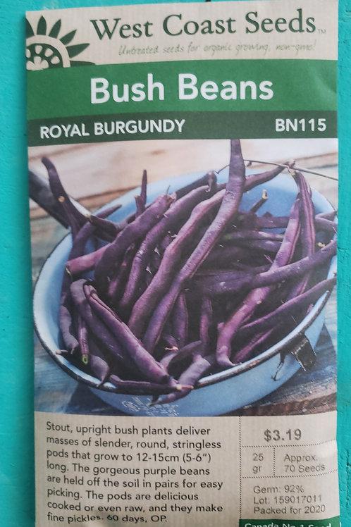 Royal Burgundy Beans