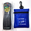 Thumbnail: Germ Protection from Remote Controls - 12 Clicker Cover Bags and Blue Case