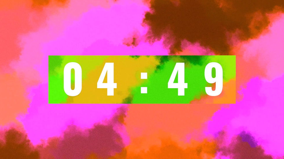 COUNTDOWN EXPERIMENTAL CLOUDS