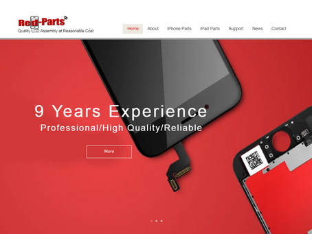 Red-Parts New Official Website Launch