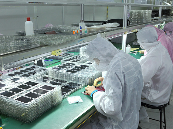 Red-parts factory for iPhone lcd assembl