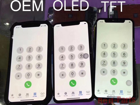 Aftermarket OLED Screen and After LCD Screen for iPhone X