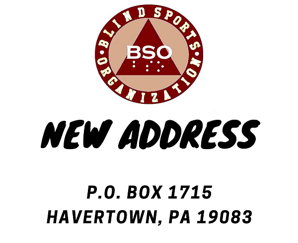 BSO's new mailing address: P.O. Box 1715 Havertown, PA 19083