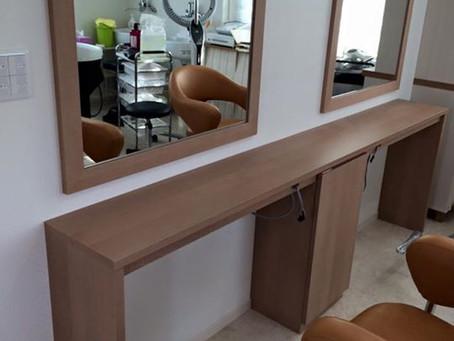 美容室 家具