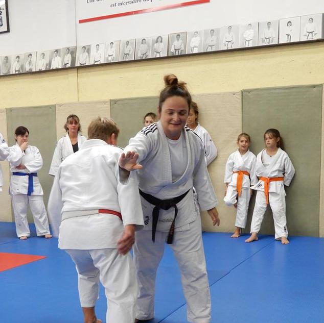 Stage jujitsu à Ciboure