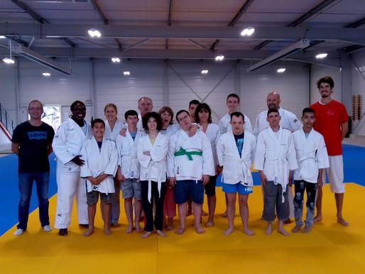 Une nouvelle section de judo adapté