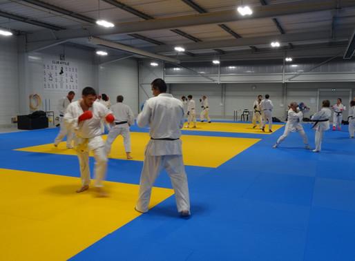 Jujitsu : Séance interclubs