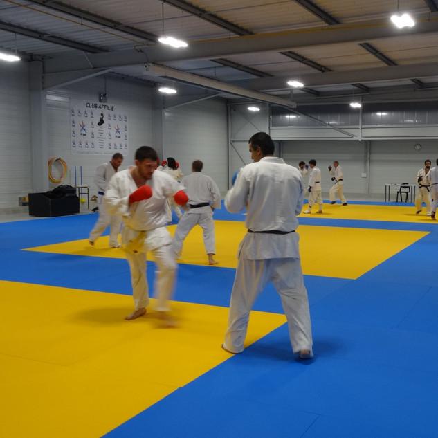 Séance Jujitsu interclubs